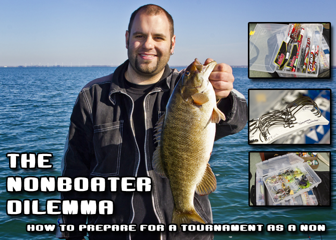 The Non-Boater Dilemma - how to prepare for a tournament as a non boater