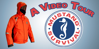 Live 2 Fish Mustang Catalyst Survival Suit Apparel Reviews Video  Mustang Survival fishing apparel