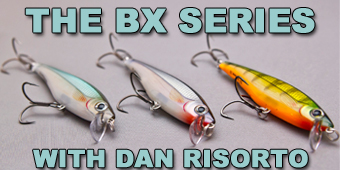 Live 2 Fish The BX Series From Rapala A First Look Reviews Tackle Video  Rapala Fishing Lures Dan Risorto BX Swimemr BX Minnow