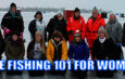 Live 2 Fish Fishing 101 For Women goes Ice Fishing on Lake Simcoe Fish'n Girl Ice Fishing News  women fishing perch fishing lake simcoe perch fishing Lake Simcoe Ice Fishing fishing 101 for women Fishing female anglers Amy Nesbitt