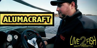 Live 2 Fish Matt Pezzetta and the Alumicraft A First Look Boats Reviews Video  Fishing Boats Fishing boats Aluminum Boats alumicraft