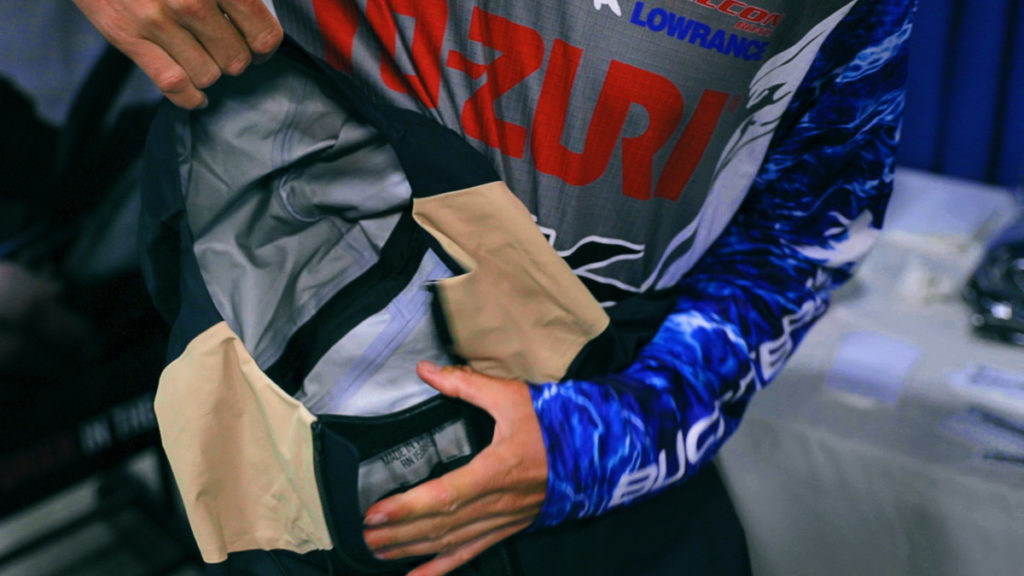 Live 2 Fish Buck N' Bass Reservoir Rain Shell A First Look Apparel Video