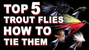 5 easy to tie trout flies